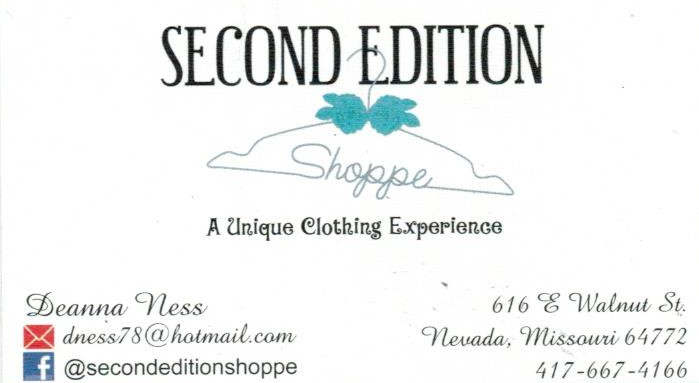 Second Edition Shoppe