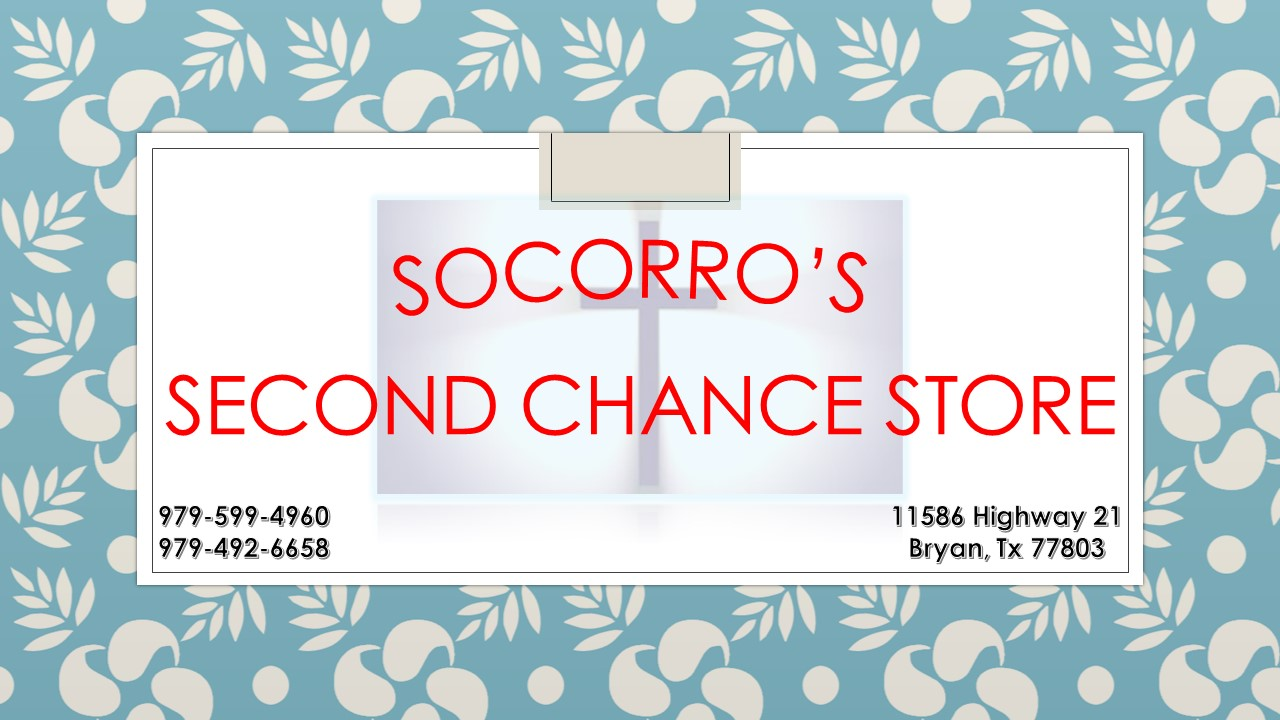 Socorro's Second Chance Resale Shop