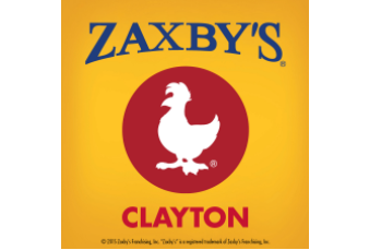 Zaxby's Clayton on chic fil a map, quiznos map, kfc map, petco map, little caesars map, bojangles map, motel 6 map, golden corral map, panera bread map, ihop map, papa johns map, longhorn steakhouse map, chuck e cheese map, cici's pizza map, chipotle map,