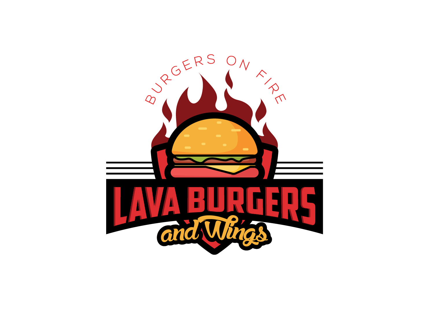 Lava Burgers and Wings
